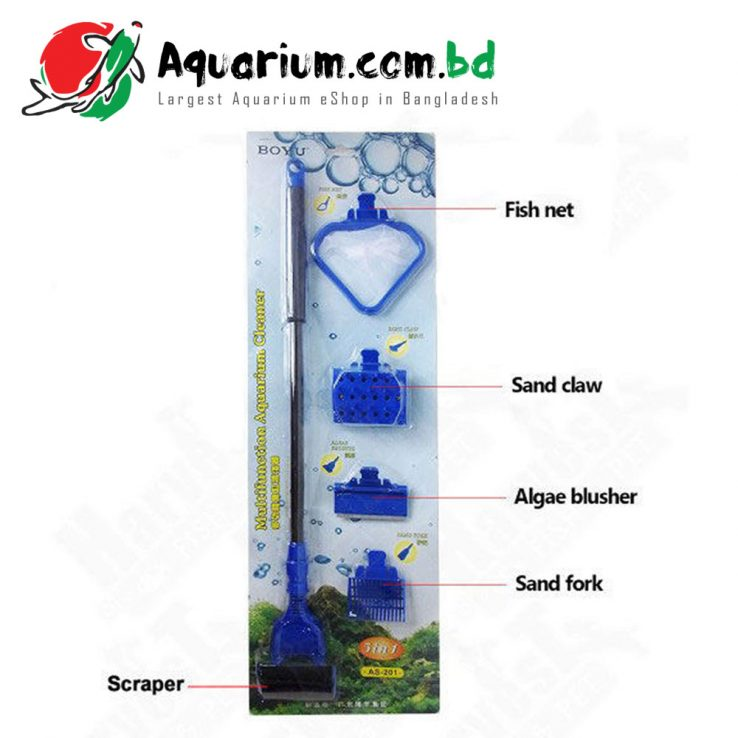5 in 1 multi-function Aquarium Cleaner BOYU AS-201