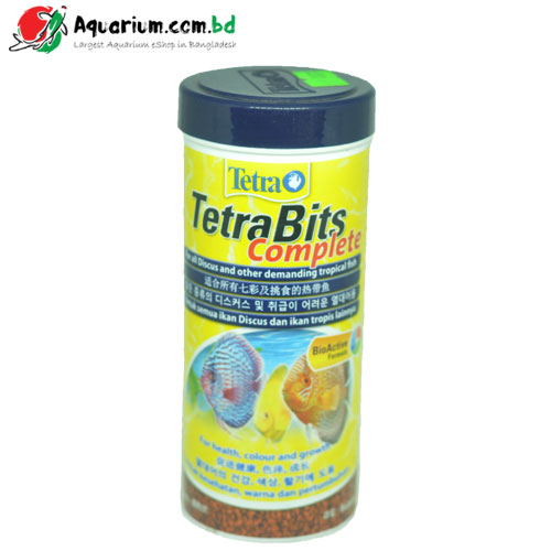 TetraBits Complete- Discus & other demanding tropical fish food