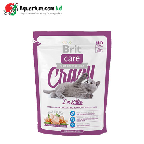 Brit Care Cat Food, Crazy I'm Kitten, 400G