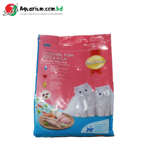 SmartHeart Chicken, Fish, Egg & Milk for Kitten(450g)