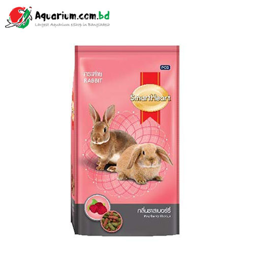 SmartHeart Rabbit Food- Raspberry Flavour(1kg)