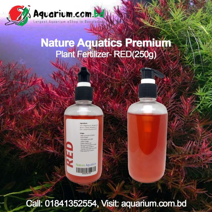 Nature Aquatics Premium Plant Fertilizer- RED(250g)