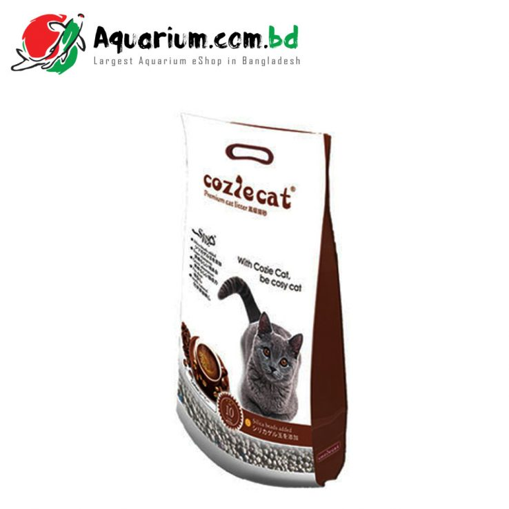 Cozie Cat Premium Cat Litter Coffee 10 liter ৳ 670.00