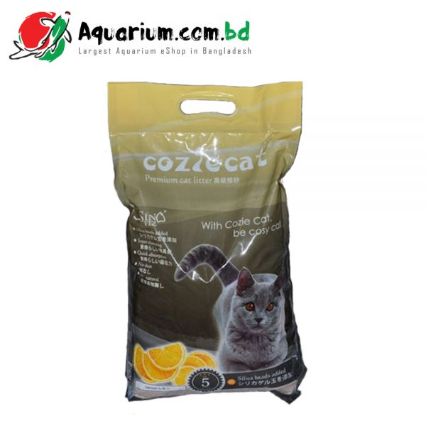Cozie Cat Premium Cat Litter Lemon 5 liter