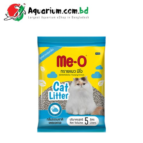 Me-O Clumping Formula Cat Litter(Unscented- 5 Liters)