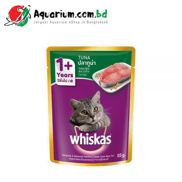 WHISKAS® POUCH ADULT 1+ TUNA 85g
