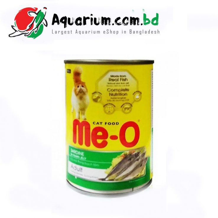 Me-O Cat Food Sardine Adult(400g)