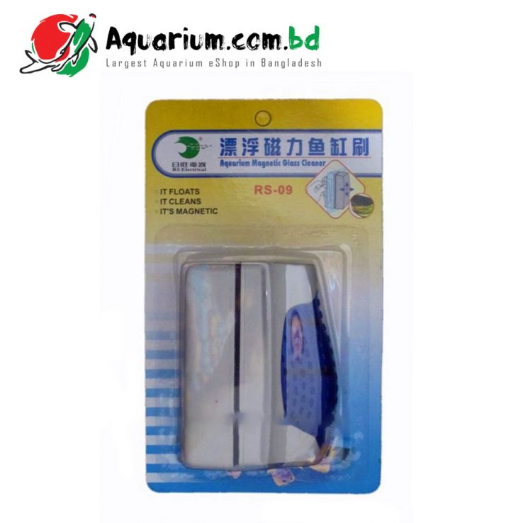 RS-09 Magnetic Floating Aquarium Glass Cleaner