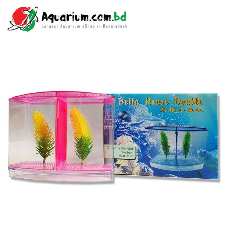 Betta House Double- Double Divider System