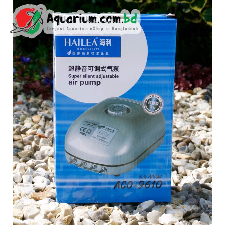 Hailea Super Silent Adjustable Air Pump(ACO-9610)