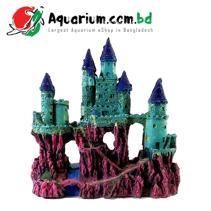High Royal Castle- Aquarium Decoration