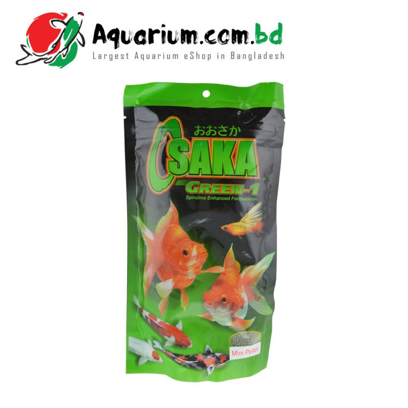 Osaka Green 1 Mini Pellets Fish Food(200g)