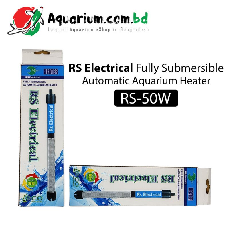 RS Electrical Automatic Aquarium Heater(RS-50W)