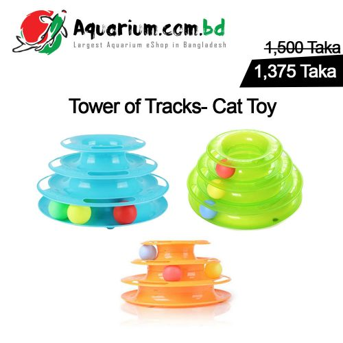 Tower of Tracks- Cat Toy