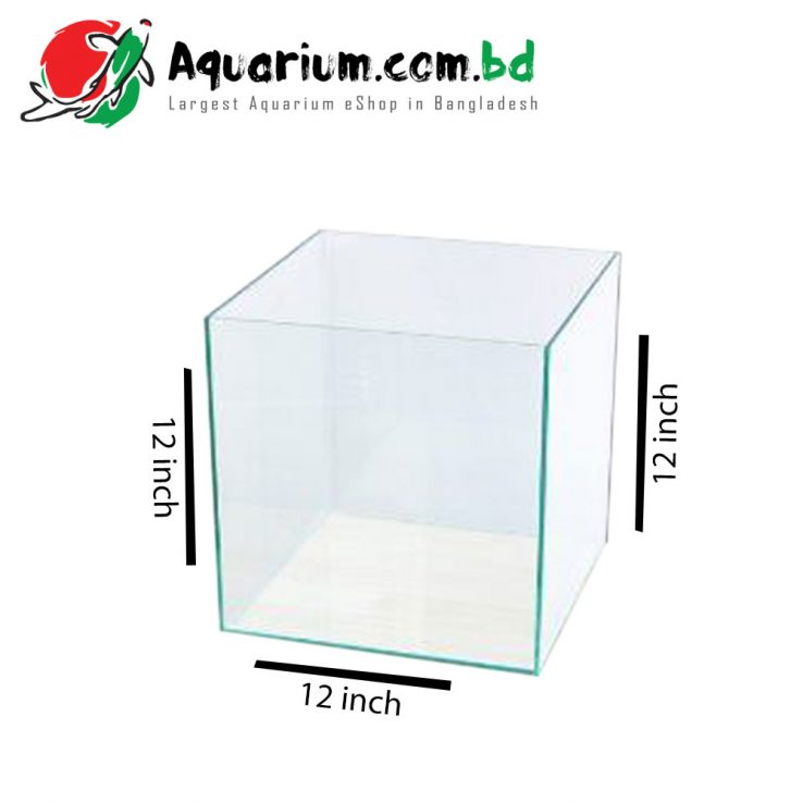 12x12x12-Aquarium-Glass-Tank