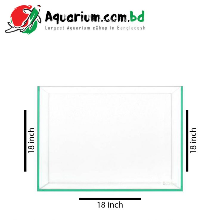 18″x18″x18″-Glass-Aquarium-Tank