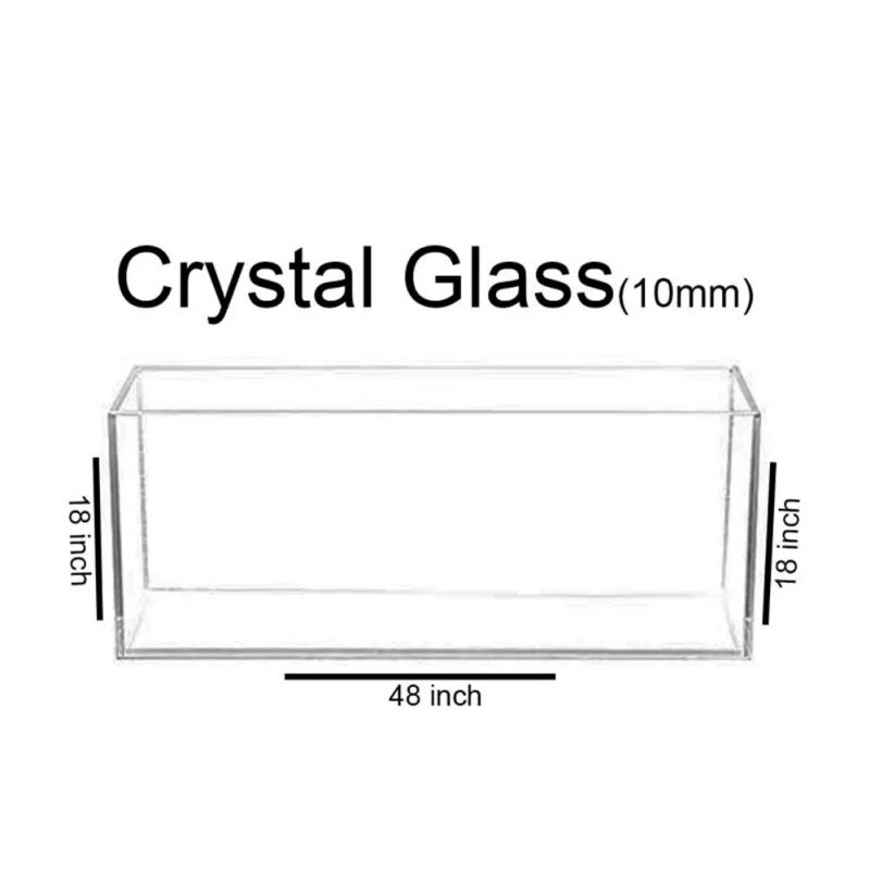 48x18x18 Crystal Glass Aquarium made of Crystal Glass