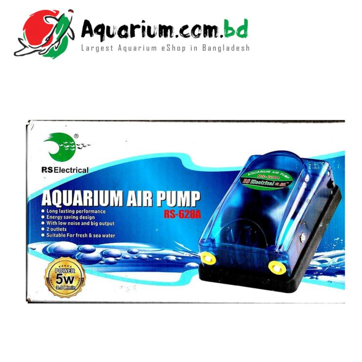 RS Electrical Aquarium Air Pump(RS-628A)