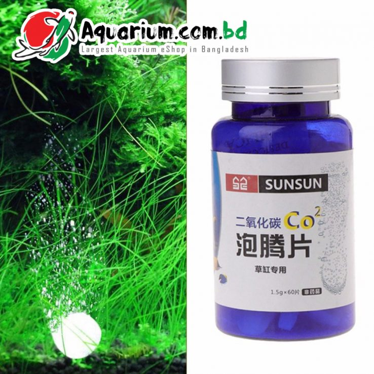 SUNSUN Co2 Tablet- 60pcs