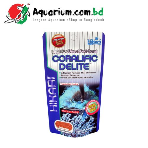 Hikari Coralific Delite- Ideal for Direct Fed Coral(Floating Type- 35g)