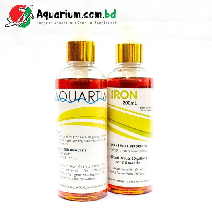 Aquartia Premium Iron Supplement(200ml)