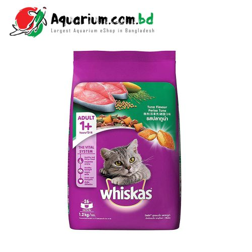 Whiskas Tuna Flavour for Adult(1.2kg)