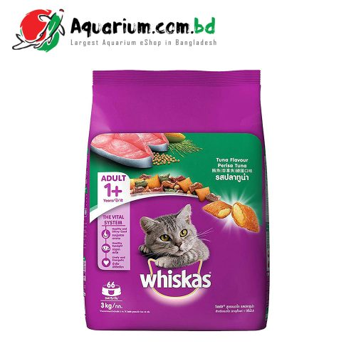Whiskas Tuna Flavour for Adult(3kg)
