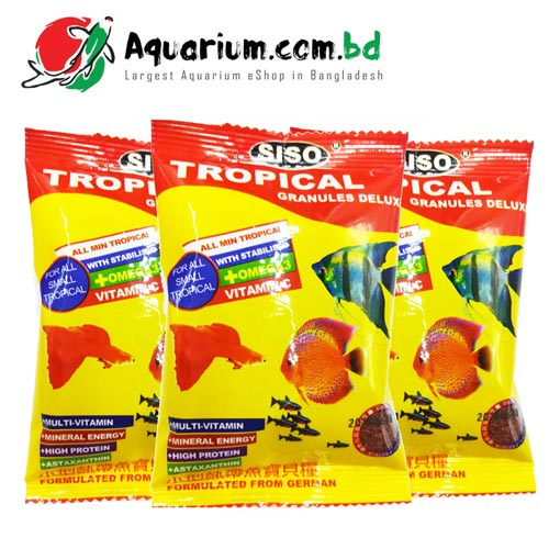 Siso TB-F3 Royal Tropical Bits Food Micro Pallet