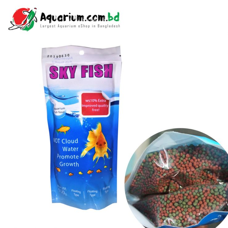 Sky Fish- Aquarium Fish Food(100g)