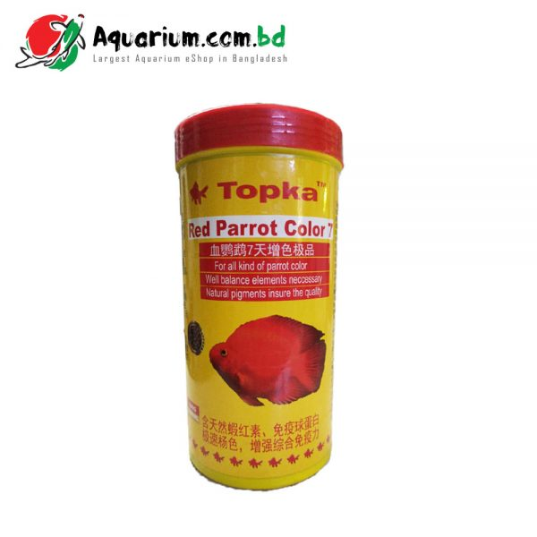 Topka- Red Parrot Color 7