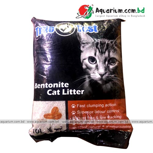 Bentonite cofee flavour cat litter 10L