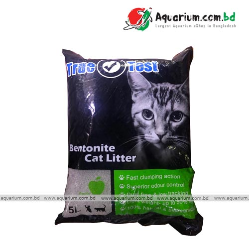 Bentonite apple flavor cat litter 5L