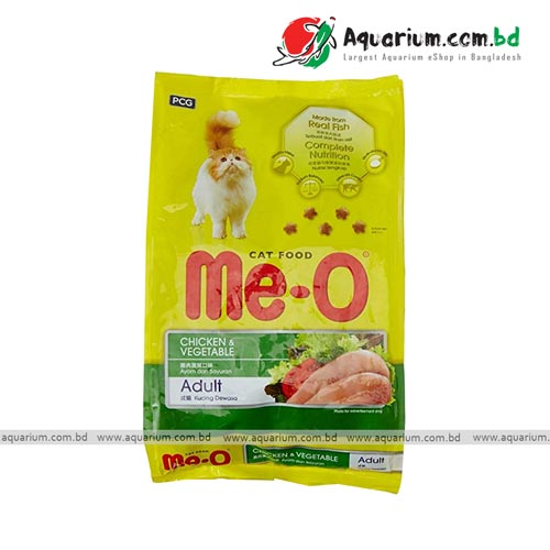 me-o chicken & vegetable flavour cat food 3kg