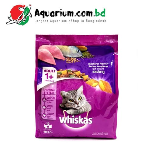 whiskas mackerel 480gm