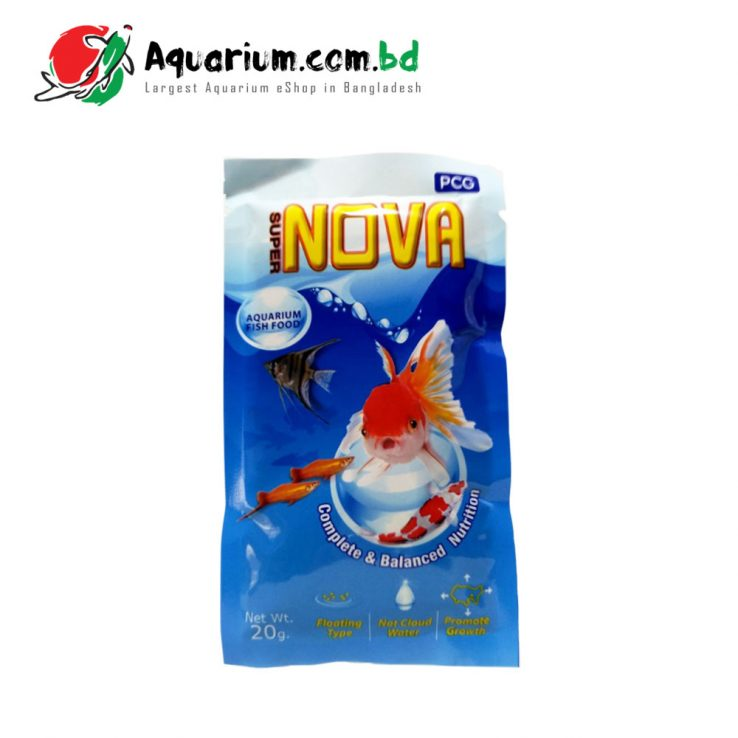 Super Nova- Aquarium Fish Food(20g)