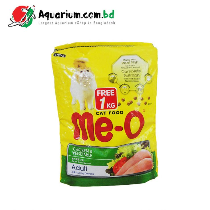Me-O Cat Food Chicken & Vegetable 7kg