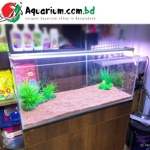 30x12x12 Inch Tank with Complete setup & Stand