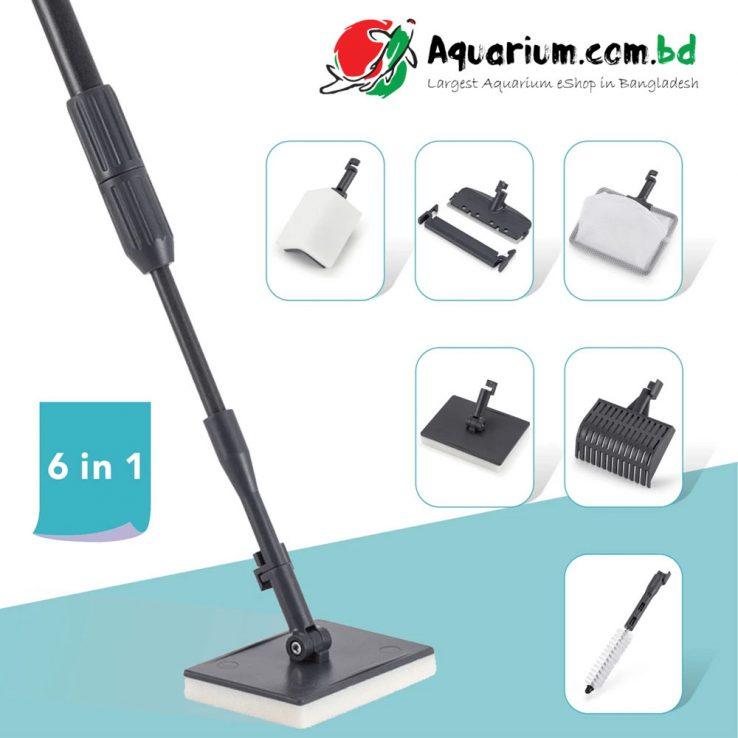 HYGGER 6-IN-1 Aquarium Cleaning Tools (High Quality)