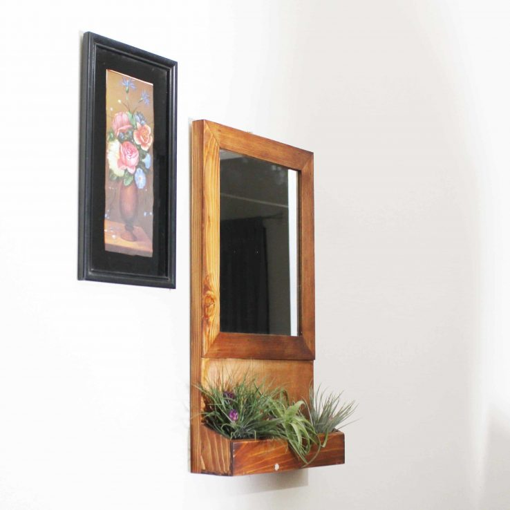 WOOD FRAME MIRROR CODE WP-06