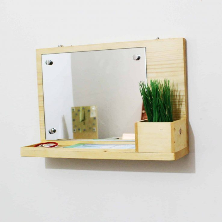 WOOD FRAME MIRROR CODE WP-07