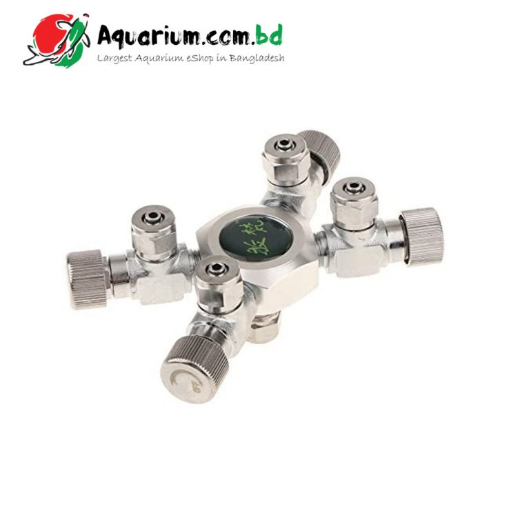MUFAN 4-Way CO2 Splitter