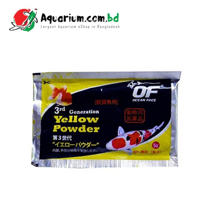 Ocean Free Yellow Powder 5g